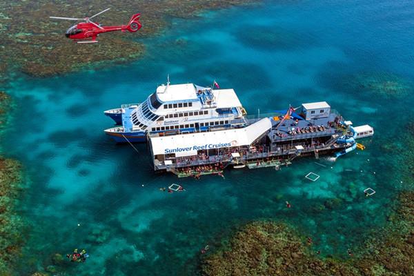 凯恩斯3天大堡礁雨林探秘之旅